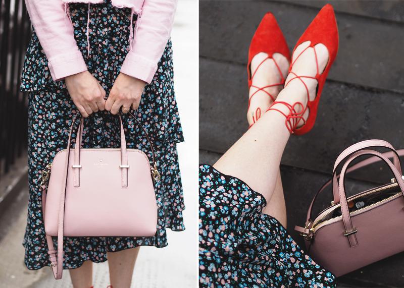 New Look floral midi skirt, Bumpkin Betty