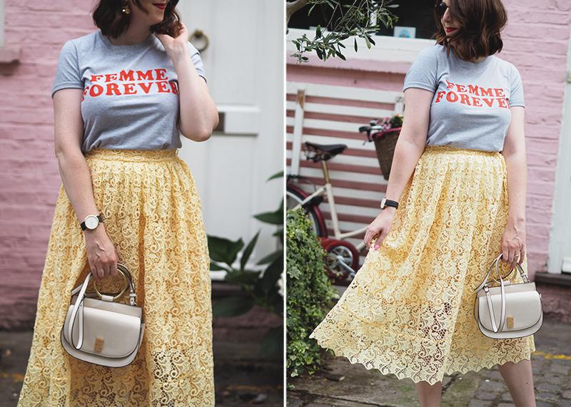 Topshop femme forever t-shirt, Bumpkin Betty