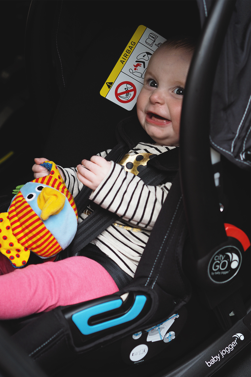 Baby Jogger Car seat review, Bumpkin Betty
