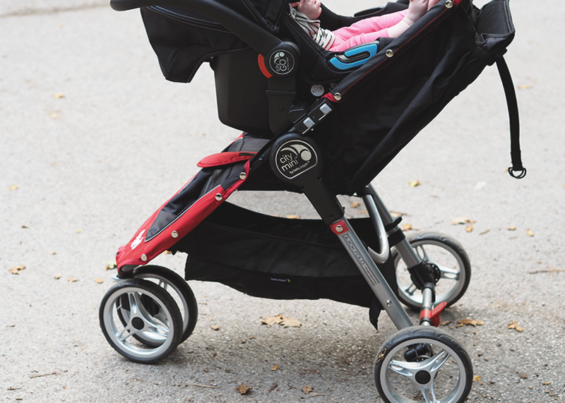 Baby Jogger City Go travel system, Bumpkin Betty