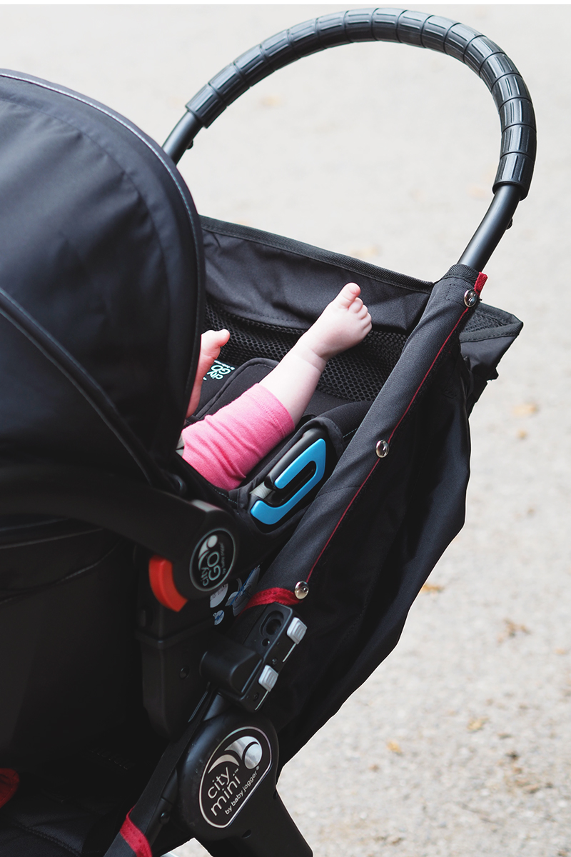 Baby Jogger City Mini and City Go review, Bumpkin betty