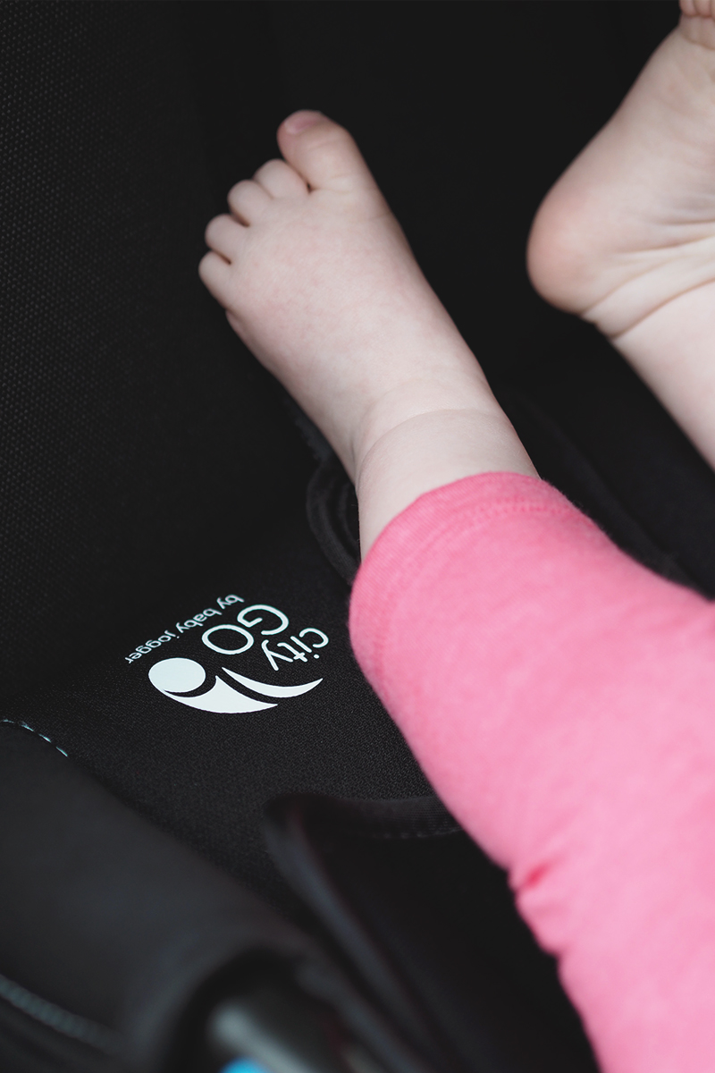 City Go car seat review, Bumpkin Betty