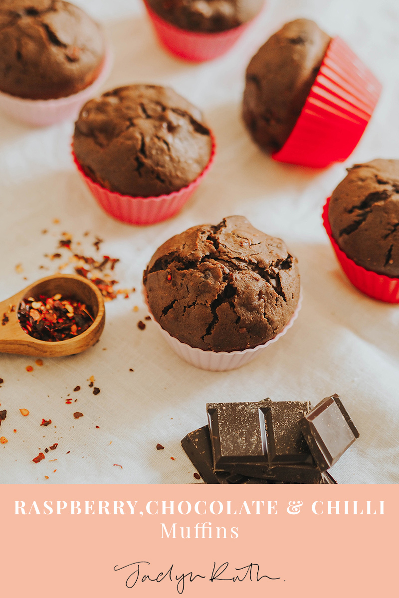 chocolate chilli muffins, Jaclyn Ruth