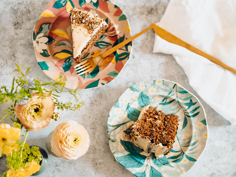 Gluten and dairy free carrot cake recipe, Jaclyn Ruth