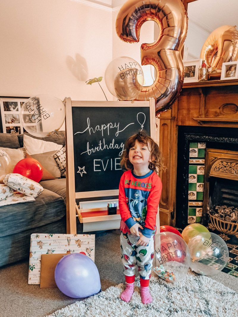 Third birthday party ideas, Jaclyn Ruth
