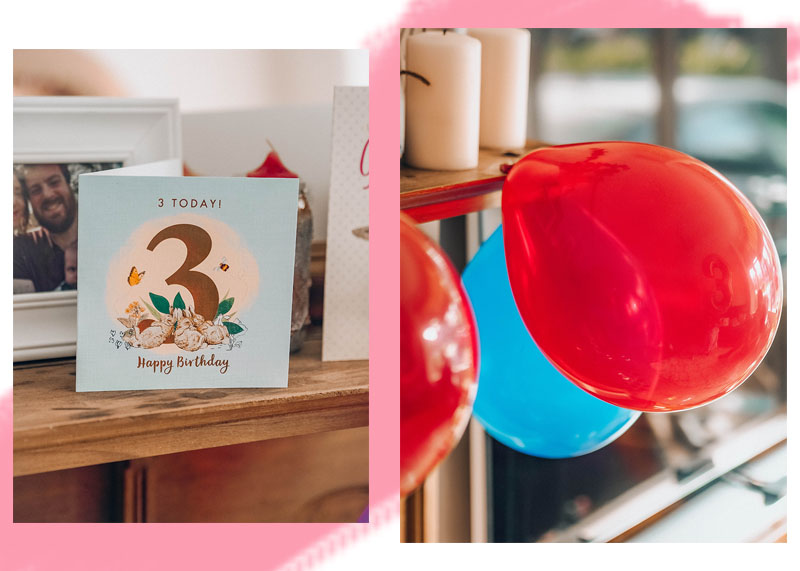 Third birthday party ideas, Jaclyn Ruth lifestyle blog