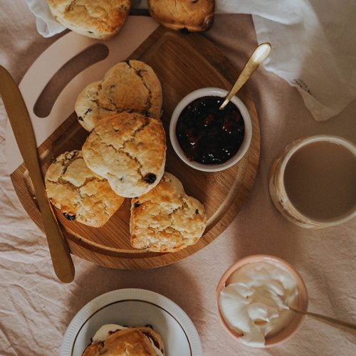 Gluten and dairy free scone recipe, Jaclyn Ruth