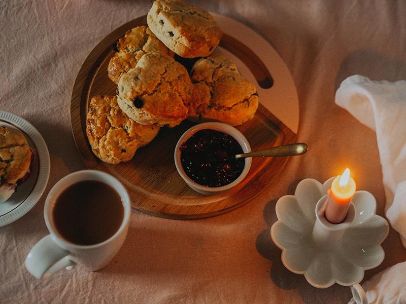 Simple Valentines scones recipe, Jaclyn Ruth food blog
