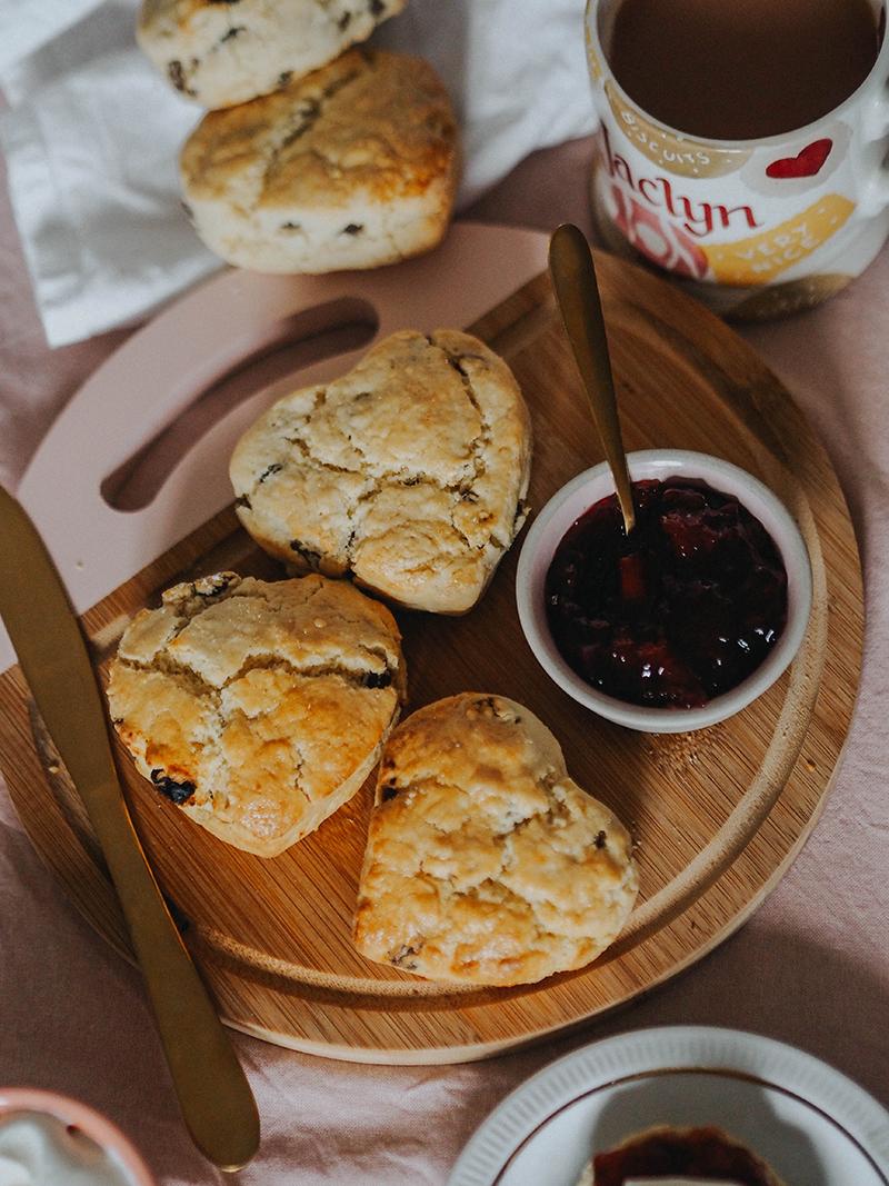 Dairy Free heart shaped scones, Jaclyn Ruth food blog