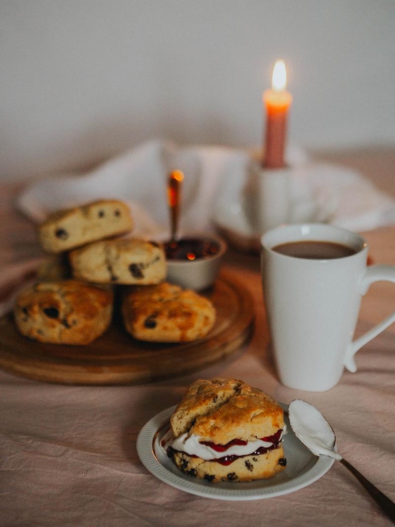 Gluten free scones recipe, Jaclyn Ruth lifestyle blog
