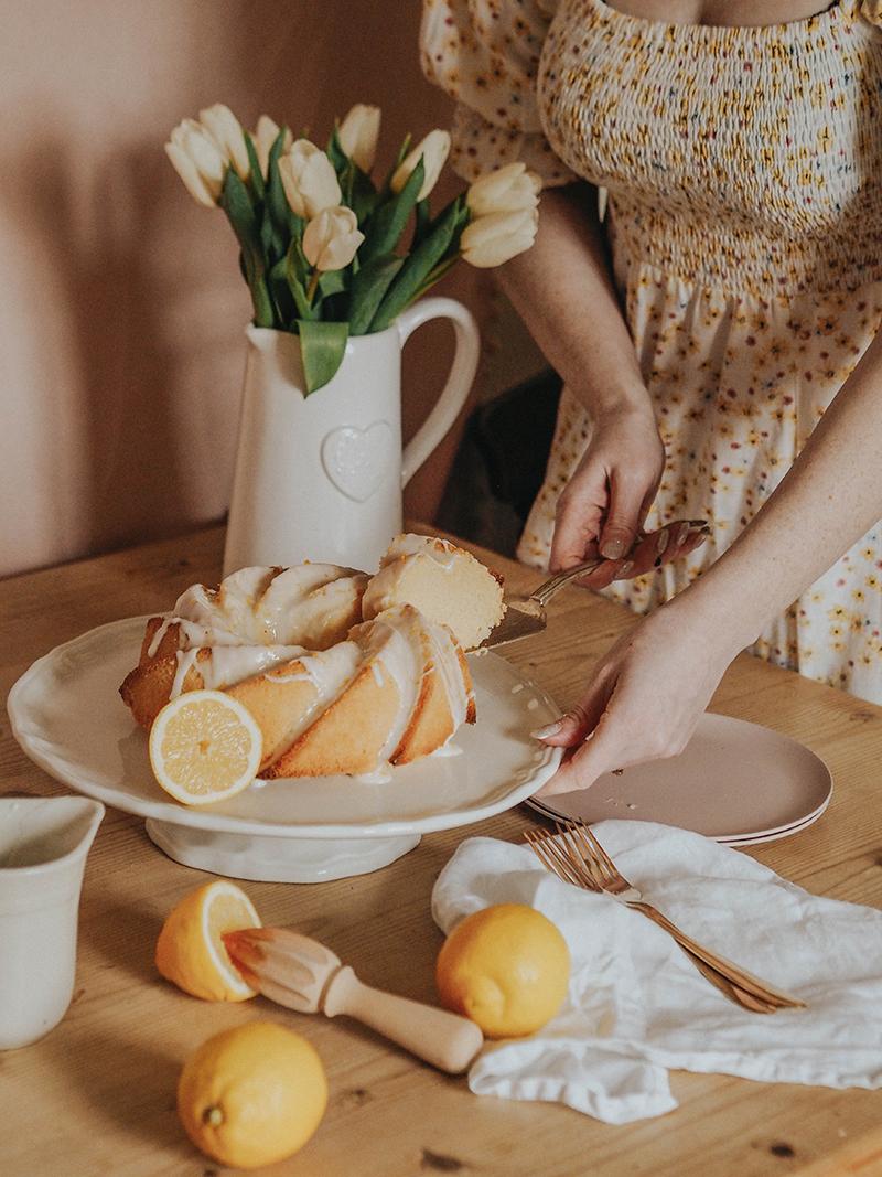 Dairy free bundt cake recipe, Jaclyn Ruth food blog