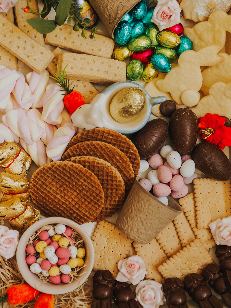 How to create an Easter treat board, Jaclyn Ruth stylist