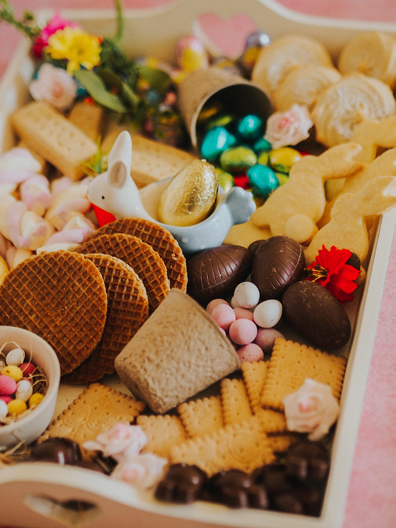 How to style an Easter treat board, Jaclyn Ruth