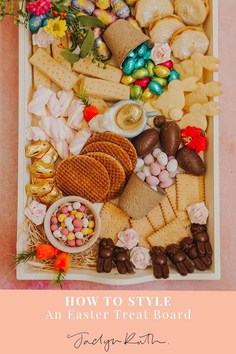 How to create an Easter treat board