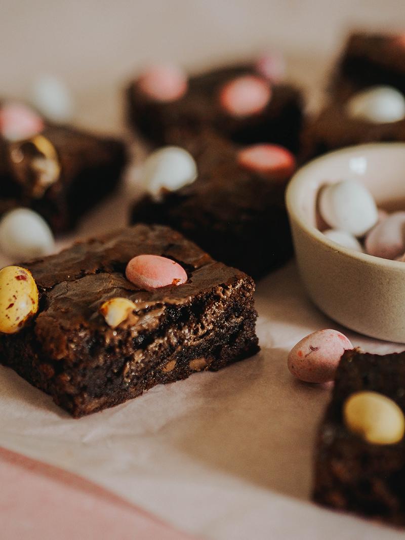 Mini Egg brownie recipe, Jaclyn Ruth
