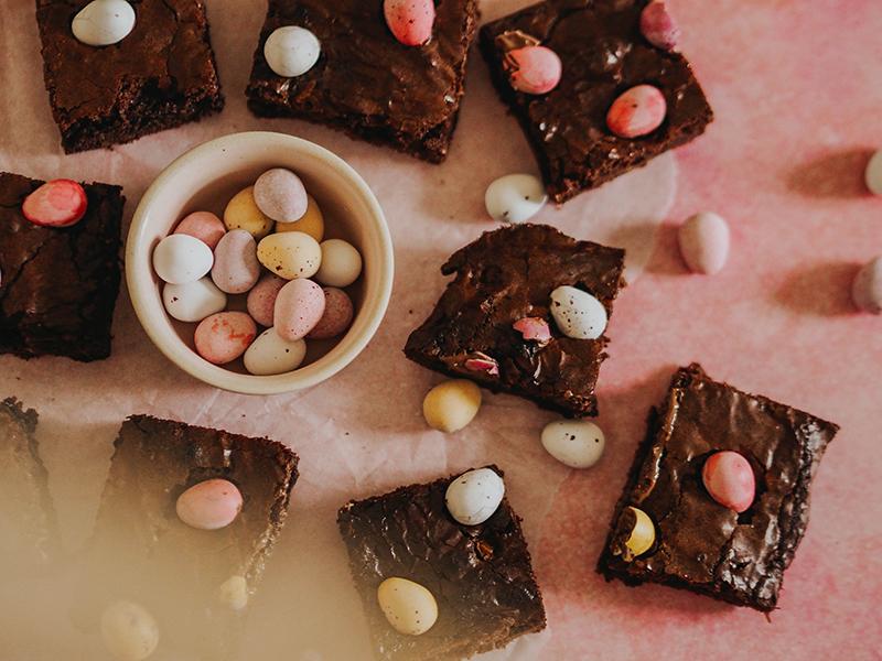 Mini Egg chocolate brownies, Jaclyn Ruth