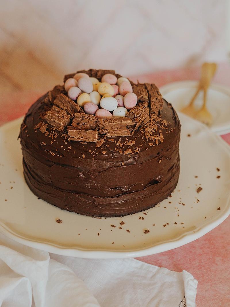 Chocolate mini egg Nest Cake, Jaclyn Ruth