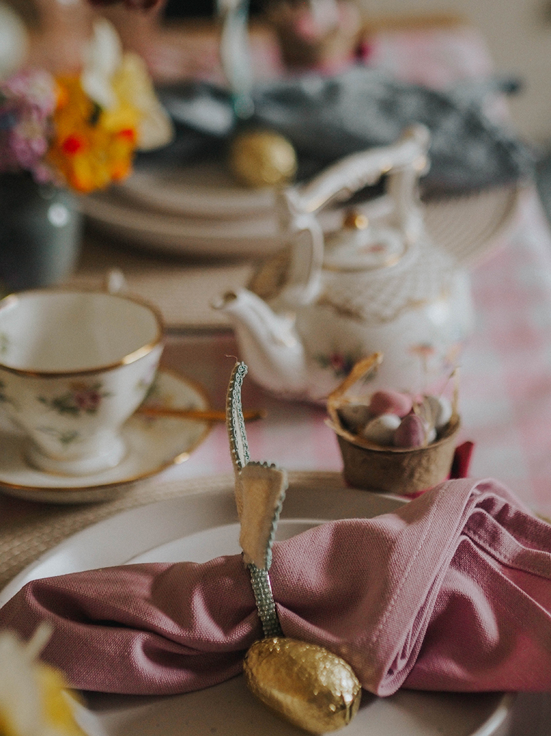 Tips for an Easter tea party, Jaclyn Ruth